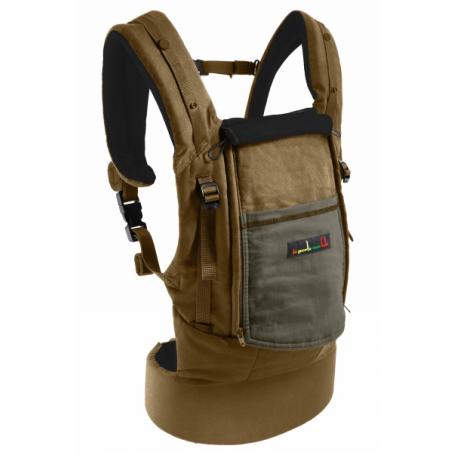Physiocarrier Coton Safari poche Olive de JPMBB