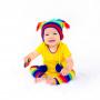 Bonnet en crochet Retro Rainbow Huggalugs