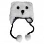 Bonnet en crochet Ours Polaire Huggalugs