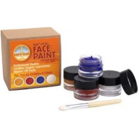 Mini Kit Maquillage 4 pots Natural Earth Paint