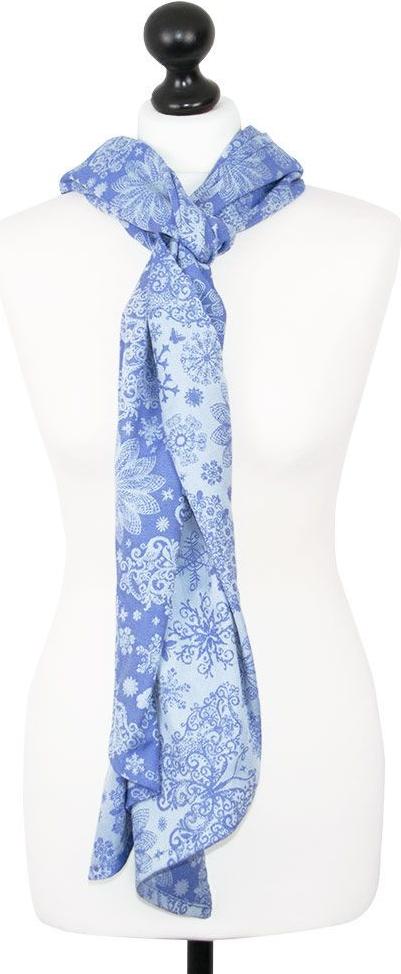 Echarpe de portage porte poup e iced butterfly perle bleu - Perle pour enfant ...