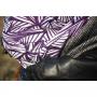 Echarpe de portage Yaro Magnetic Contra Indigo White Wool Tussah