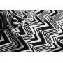 Echarpe de portage Yaro Ziggy Contra Black White Repreve Wool