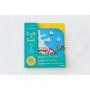 Cahier à craies Trains Jaq Jaq Bird 8 pages réutilisables