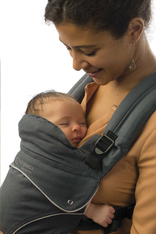 Porte-bébé évolutif Babylonia Flexia Soft Grey - Porte-bébé Préformé ... e7a824217a1