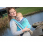 Ring Sling Yaro Four Winds Aqua Grad Natural Hemp
