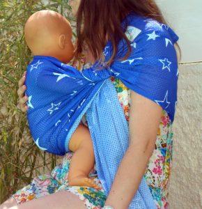 sukkiri Bleu etoiles blanches