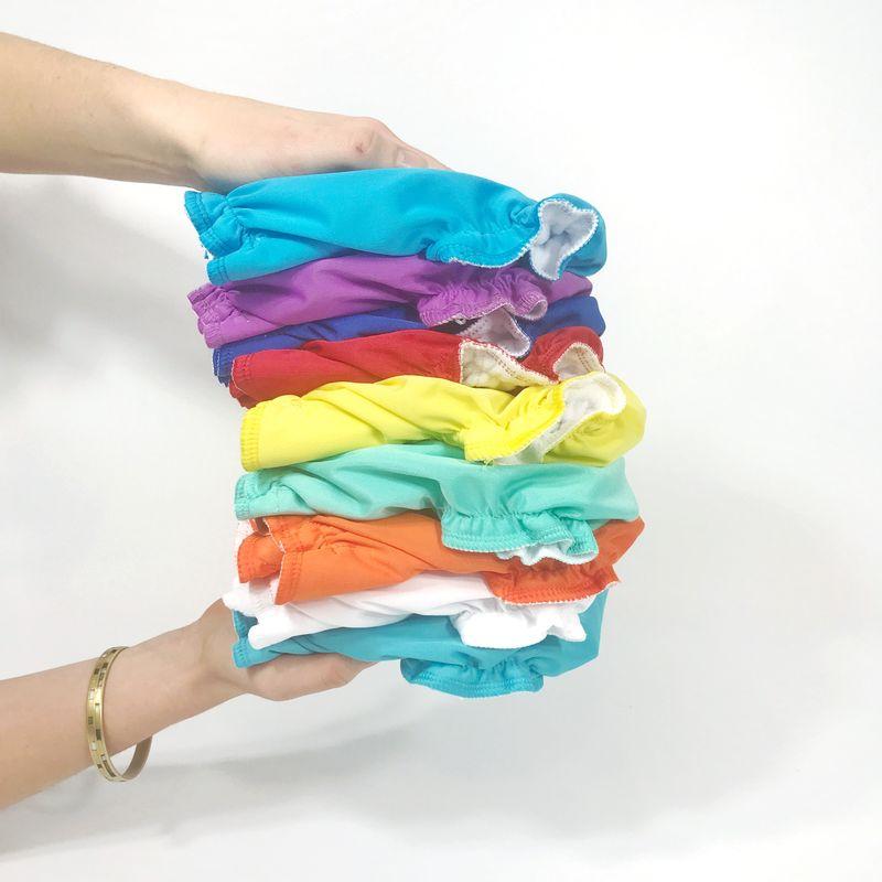 Ma réserve de couches lavables